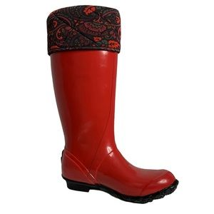 Bogs Alex II Rain Boot in Red